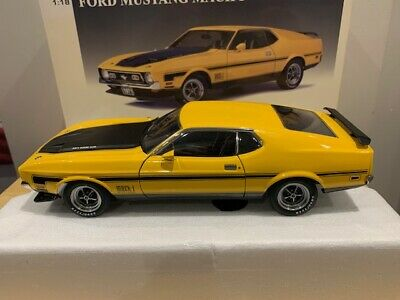 $ CDN399.99 • Buy 1/18 AUTOART Ford Mustang Mach 1 Fastback 1971 Very Rare Diecast Model WOW