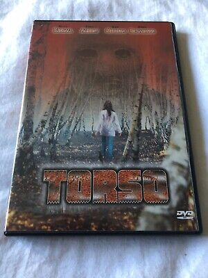Torso DVD Anchor Bay Region Free Uncut English Export Cult Horror Sergio Martino • 7.95£