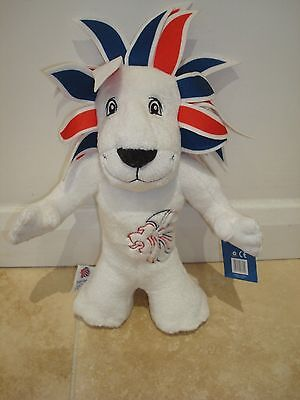 Official London 2012 Olympic Games Team GB Mascot Soft Toy Plush 12  Pride Lion • 5.95£