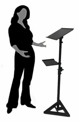 AU82 • Buy Portable Projector Laptop Holder Guestbook Display Music Speaking Stand