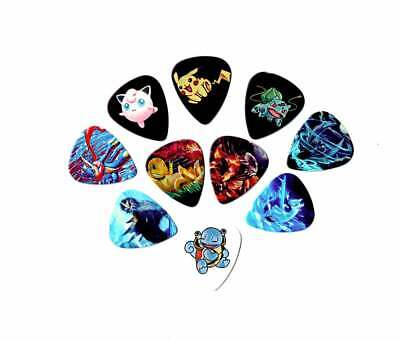 AU14.99 • Buy Pokemon Guitar Picks (10 Medium Picks In A Packet)