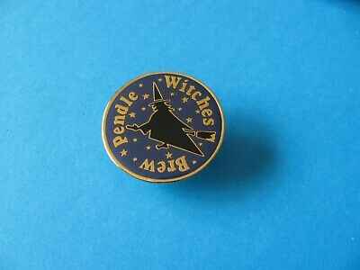 Moorhouse's Pendle Witches Brew Beer Pin Badge, VGC. Unused.   • 3.25£