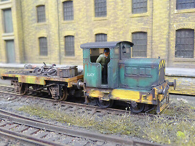 Hornby Ruston Hornsby Diesel Lucy & Wagon (detailed Lineside Weathered) R3706 • 225£