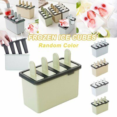 Ice Cream Mould Block Frozen Molds Icy Pole Jelly Pop Popsicle Maker  N# • 3.99£