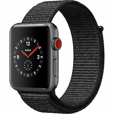 $ CDN228.65 • Buy Apple Series 3 Smart Watch With Case & Sport Band - Black/Gray - Size:42mm