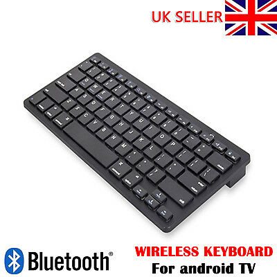 Black Wireless Bluetooth Keyboard For IPad Phone Apple IMac Android Tablet PC • 9.99£