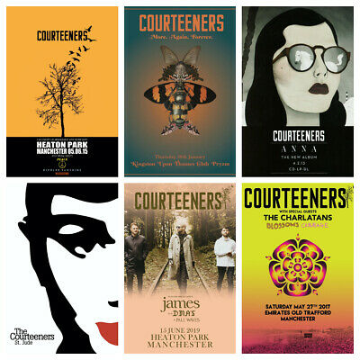 The Courteeners Album Tour Lian Fray Anna St Jude Rendezvous Print/poster A4/A3 • 4.50£