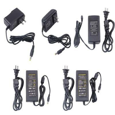 $9.49 • Buy AC/DC 12V 1A 2A 5A 6A 8A Power Supply Cord Charger Adapter For LED Strip Light