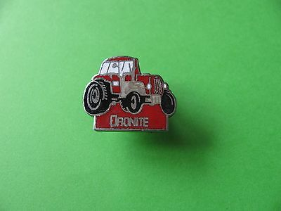 Tractor Pin Badge. Oronite Oil. Farming, Tractor Interest. VGC. Enamel. • 2.75£