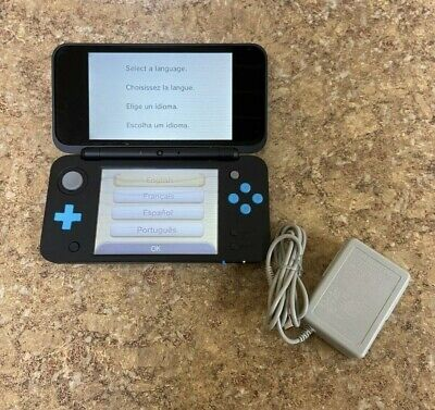 $ CDN190 • Buy NINTENDO  NEW  2DS XL JAN-001 - BLACK/BLUE - Charger And Stylus Included!
