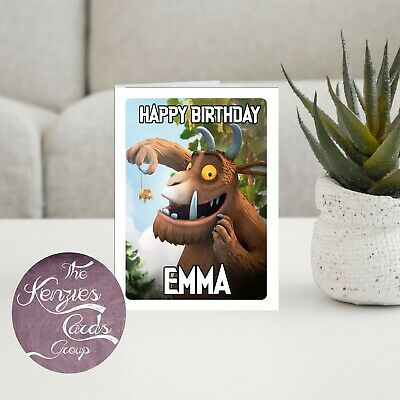 £3.30 • Buy Personalised The Gruffalo Birthday Card A5 260gsm Gloss Finish V1