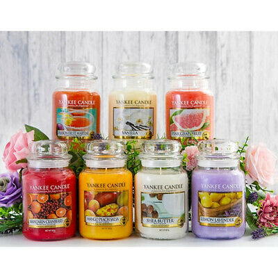Yankee Candle Large 538 G Jar And Medium 340 G Jar Variety Scented Violables • 13.99£