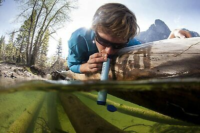 $15.20 • Buy LifeStraw Portable Filter Water Purifier For Hiking, Wild Camping, Travel