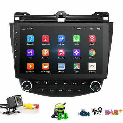 $182.99 • Buy 10.1'' Touch Screen Car Radio GPS Stereo For 2003-2007 Honda Accord Android 9.1