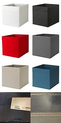 Ikea Drona Storage Boxes Baskets Holder For Expedit Kallax Unit PLAIN Colour NEW • 11.99£