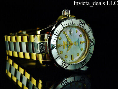 $ CDN127.72 • Buy Invicta Men's 47mm GRAND DIVER AUTOMATIC MOP Dial Gold Two Tone 300M SS Watch