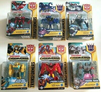 Transformers Cyberverse Warrior Class Action Figures New Boxed • 14.89£