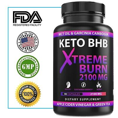 $13.33 • Buy 2100MG Keto Diet Pills Advanced Weight Loss That WORKS Burn Fat Carb Blocker BHB
