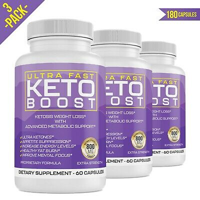 $10.99 • Buy Ultra Fast Keto Boost Energy, BHB Advanced Weight Loss Diet Pills Shark Tank Fit