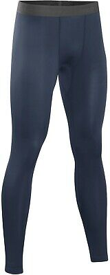 Sub Sports Core Recovery Mens Compression Tights Navy Blue Base Layer Leggings • 17.99£