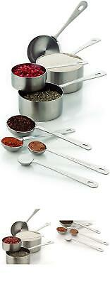 $38.99 • Buy Amco Professional Performance Measuring Cups And Spoons, Set Of 8, Assorted - 83
