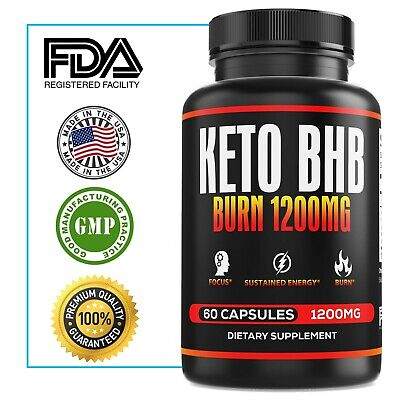 $14.99 • Buy Ultra Fast Pure Keto BHB Weight Loss Diet Pills  Ketogenic Supplement Boost Burn