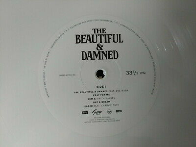 G Eazy The Beautiful And Damned Sealed WHITE & BLACK COLOURED Vinyl LP  • 22.50£