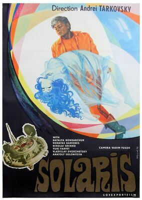 $3500 • Buy Andrei Tarkovsky SOLARIS Original Russian Poster For The 1972 Film #136505