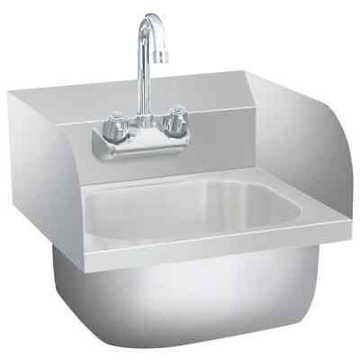 VidaXL Commercial Hand Wash Sink With Faucet Stainless Steel Kitchen Basin • 155.99£