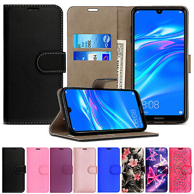 Case For Huawei Y5 Y6 Y6s Y7 Y9 Luxury Leather Wallet Flip Magnetic Stand Cover • 2.99£