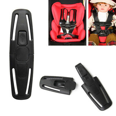 Car Safety Seat Strap Belt Harness Chest Clip Safe Buckle For Kids Baby Toddler • 3.84£