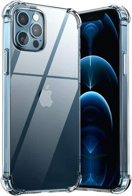 CLEAR Case For IPhone 11 Pro Max XR XS Max SE SOFT TPU Cover Shockproof Silicone • 3.75£