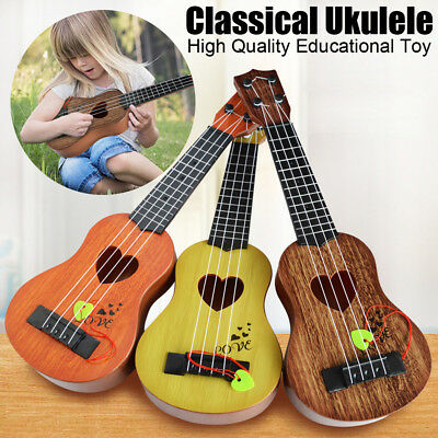 AU13.48 • Buy Beginner Classical Ukulele Guitar Educational Musical Instrument Toy For Childs