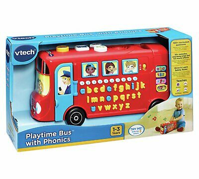 Vtech Playtime Bus With Phonics 80-150003 • 23.99£