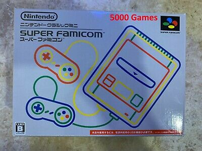 $ CDN224.63 • Buy Nintendo SNES Super Famicom Classic Mini 5000 Games Console - Free USPS Shipping