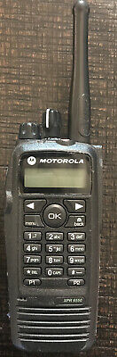 $189.99 • Buy Motorola XPR6550 UHF 450-512 MHz  AAH55TDH9LA1AN Radio 2 Way, Pre-owned