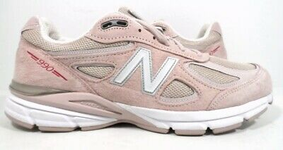 $139.94 • Buy New Balance NO LID Mens 990v4 Sneaker Made In US Faded Rose/Pink Ribbon Size 8.5