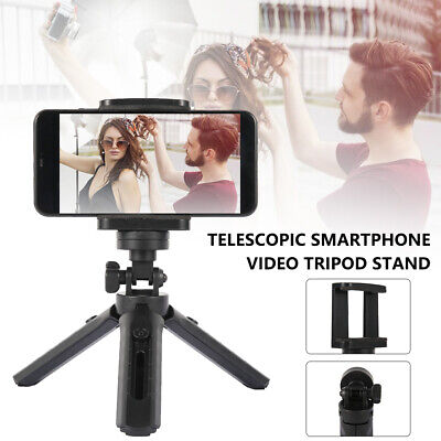 AU12.42 • Buy Universal Mobile Phone Tripod Stand Mount Holder Video Live Self-Timer Fr IPhone