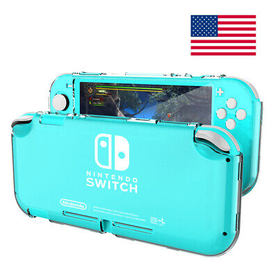 $8.99 • Buy For Nintendo Switch Lite Clear Hard Case Hard Back Cover Anti-Scratch Shockproof