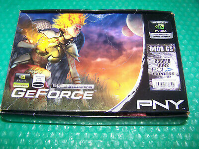 New PNY GeForce 8400 GS PCI-E 256MB Verto Graphics Card • 30£