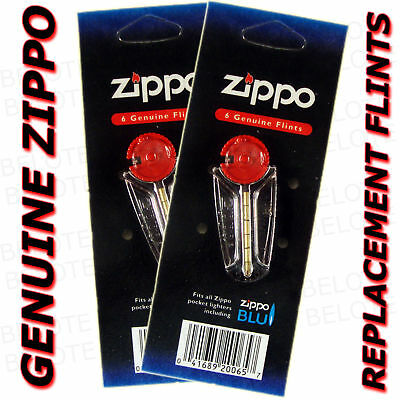 $3.60 • Buy Genuine Zippo Replacement Flint 2406N 2 Packs 12 Flints FREE SHIPPING NEW