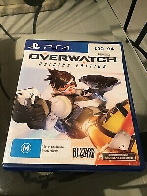 AU39.99 • Buy Overwatch Origins Edition PS4 Game Sony PlayStation 4 As New