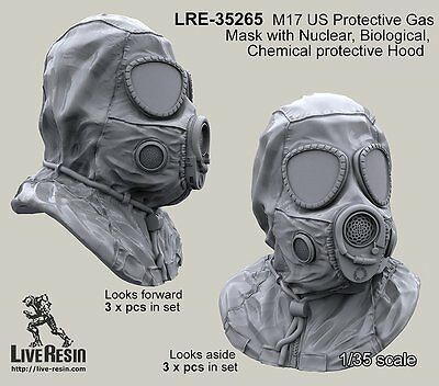 $ CDN15.95 • Buy Live Resin 35265 1/35 M17 US Protective Gasmask With NBC Hood