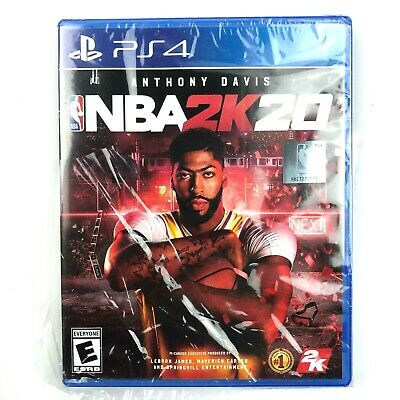 $ CDN42.17 • Buy NBA 2K20 Anthony Davis Video Game For PlayStation PS4 *** Plastic Torn ***