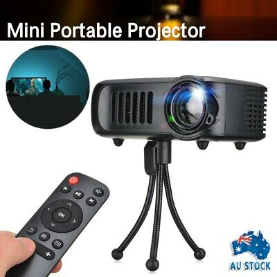 AU48.99 • Buy Mini Portable Pocket HDMI Projector HD Movie Video Projectors Home Theater Black