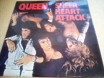 Queen - Sheer Heart Attack - 12  Vinyl LP EX+/EX 5U/3U • 19.95£
