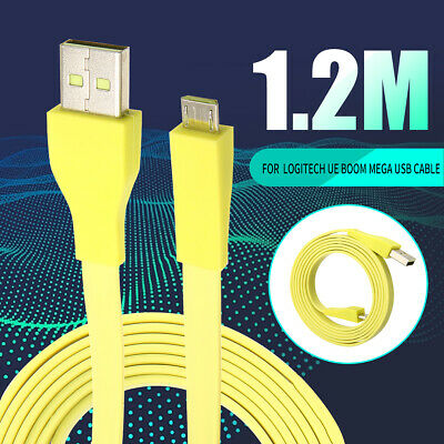 AU9.99 • Buy 1.2M Micro USB AC/Car Charger Cable Cord Wire For Logitech UE BOOM MEGA Speaker