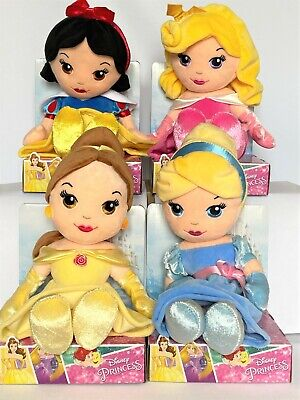 Disney Princess - Soft Toy - Rag Doll - 10   (25cm), Licenced, Brand New - Boxed • 10.99£