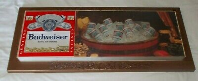 $ CDN134.06 • Buy Vintage 1979 Anheuser Budweiser Sign 33 1/2  Clydesdale's 33 X 14 NICE Condition