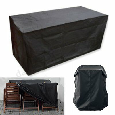 AU23.74 • Buy 180cm 6 Seater Patio Waterproof Furniture Cover Outdoor Garden Table  +